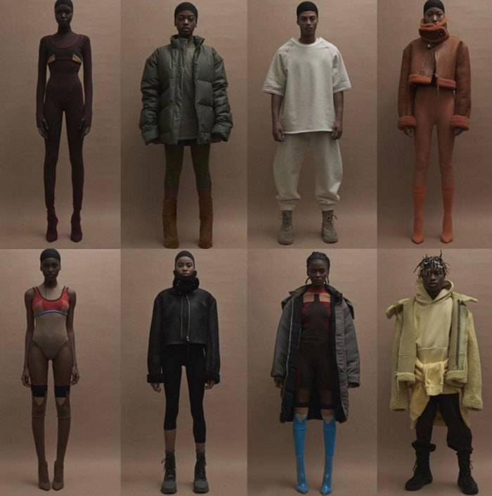Kanye West toont Yeezy 3 op New York Fashion Week