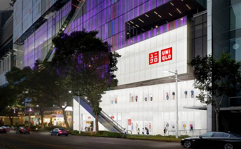 Uniqlo opent eerste flagshipstore in Singapore