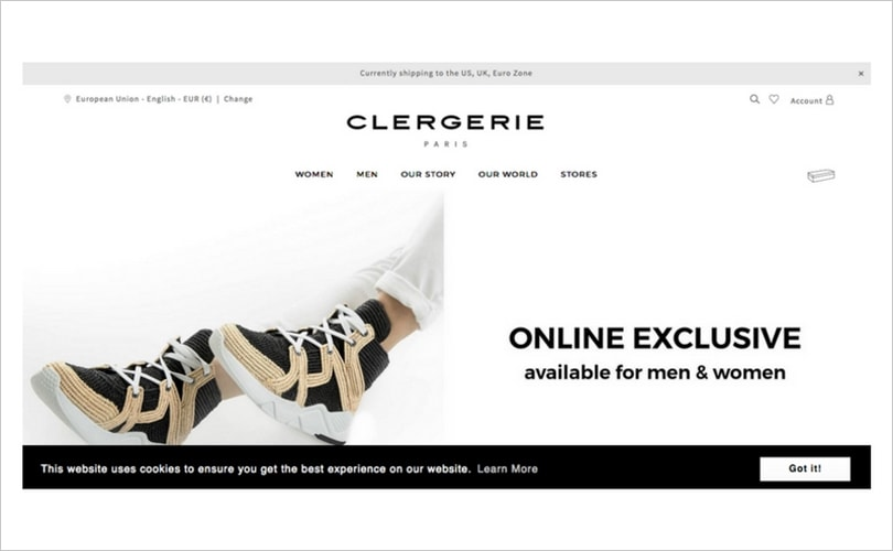 Clergerie lance son site de e-commerce