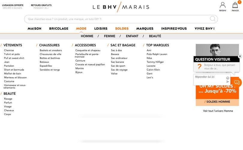 Le BHV Marais se lance dans le commerce en ligne adeb911f60f
