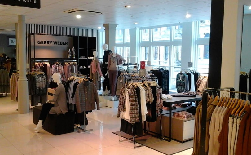 Gerry Weber opent shop-in-shops bij House of Fraser