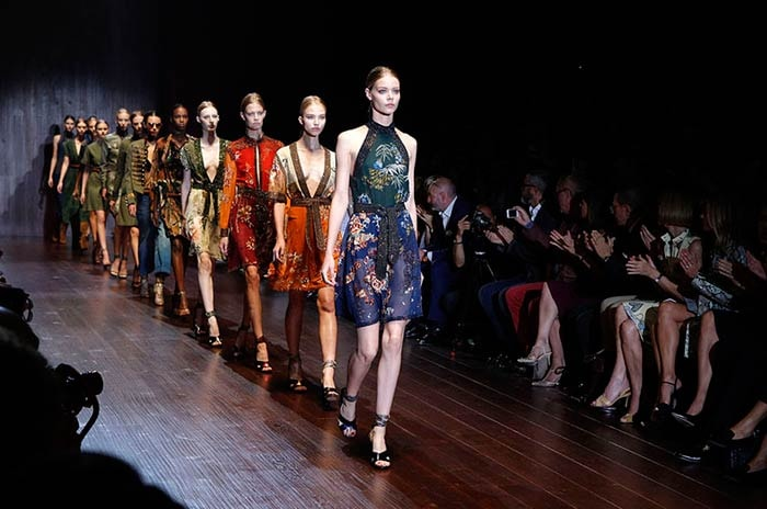 Gucci showt resort collectie 2017 in Londen