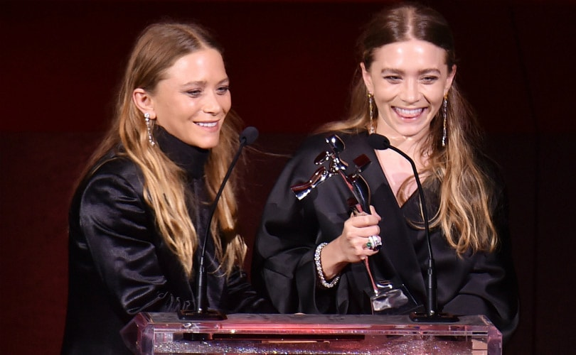 Mary-Kate en Ashley Olsen winnen 'Oscar van de mode'