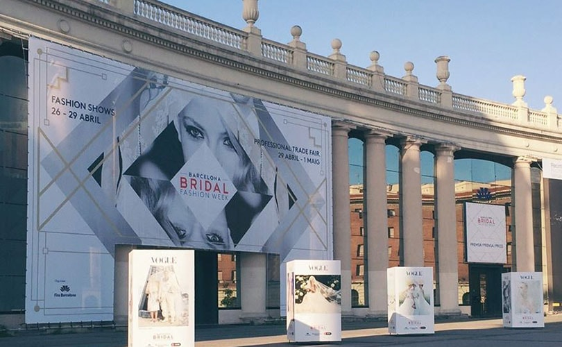 Kijken: fashion shows van Barcelona Bridal Fashion Week