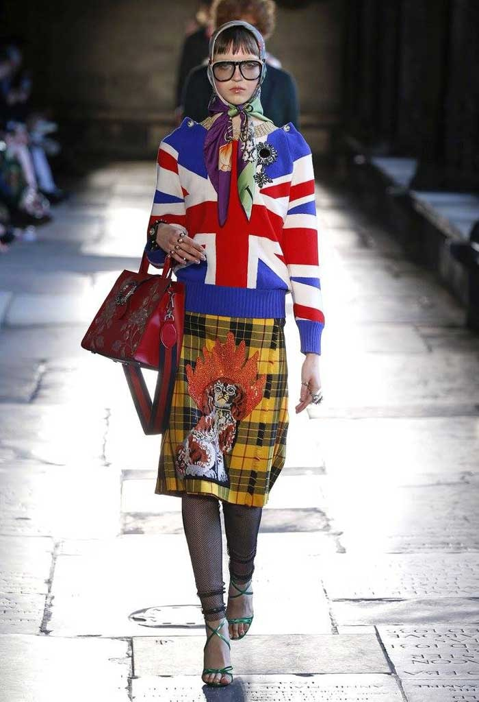 In Beeld: Gucci cruise show in Westminster Abbey