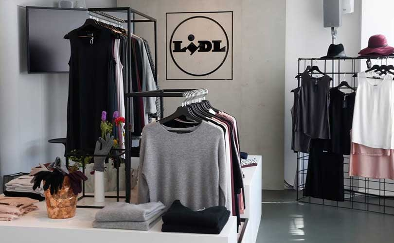lidl opent mode pop up store in hamburg. Black Bedroom Furniture Sets. Home Design Ideas
