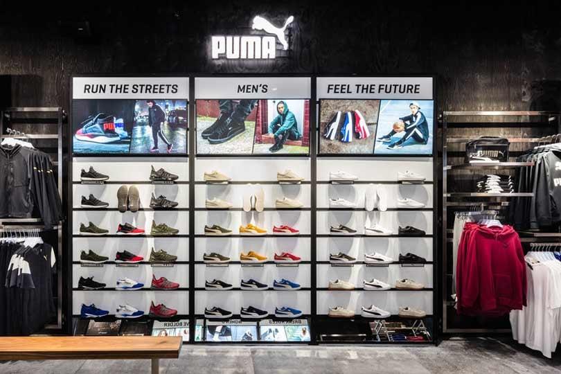 In Beeld: Puma opent vlaggenschip Antwerpen