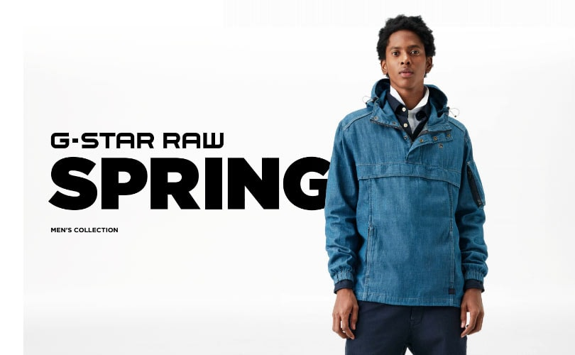 G-STAR RAW ONTHULT VOORJAAR '19-COLLECTIE: STYLE MATHEMATICS