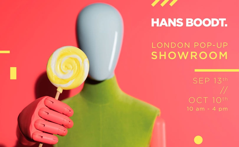 Hans Boodt London pop-up showroom