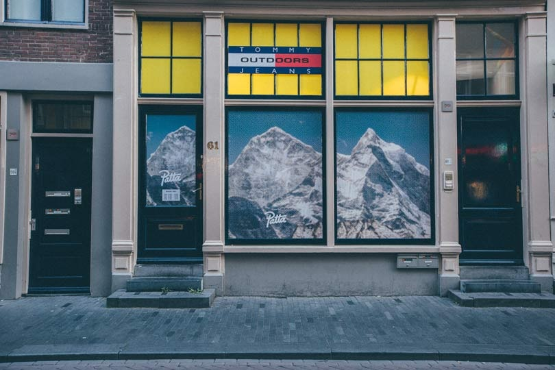 Zien: Tommy Hilfiger lanceert Outdoor-collectie in Patta pop-upstore