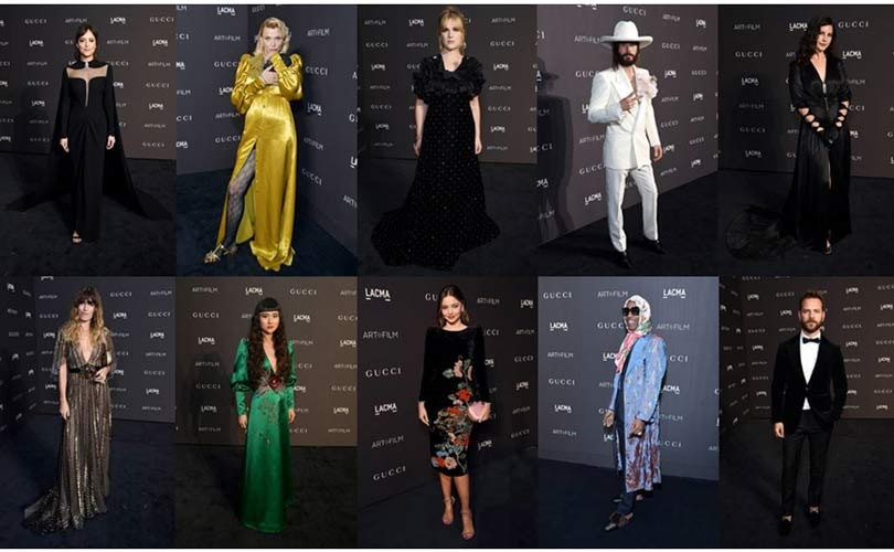 GUCCI DRESSES VIPS FOR THE EIGHTH ANNUAL LACMA ART+FILM GALA - AND - GUCCI HOSTS PARTY TO CELEBRATE GUCCI GUILTY FRAGRANCES
