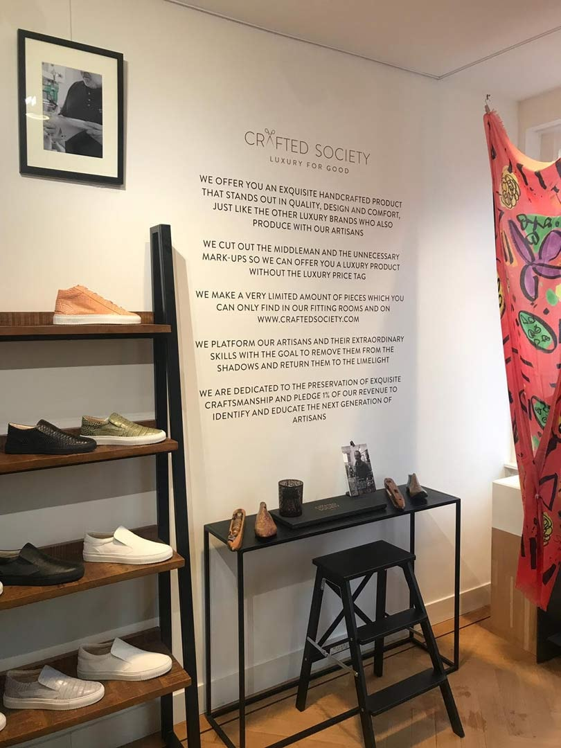 'Luxury for Good': Crafted Society tracht Italiaans vakmanschap te behouden