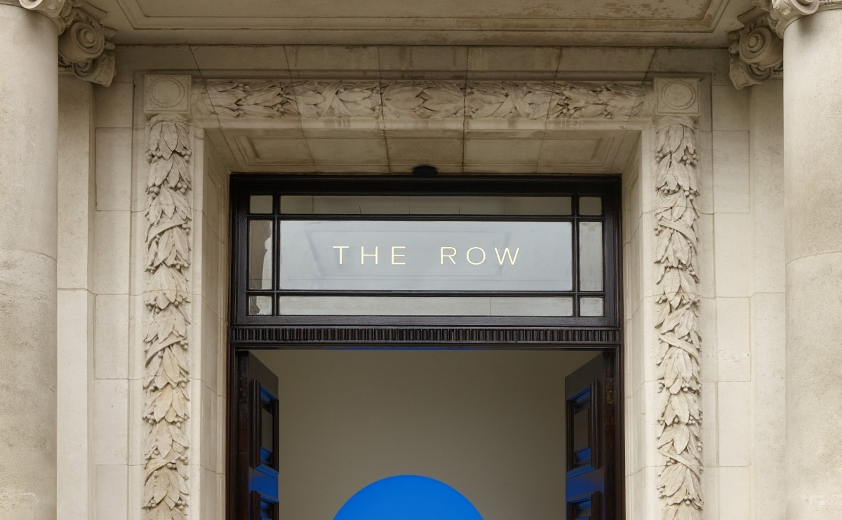 Eerste internationale retaillocatie van The Row geopend in Londen