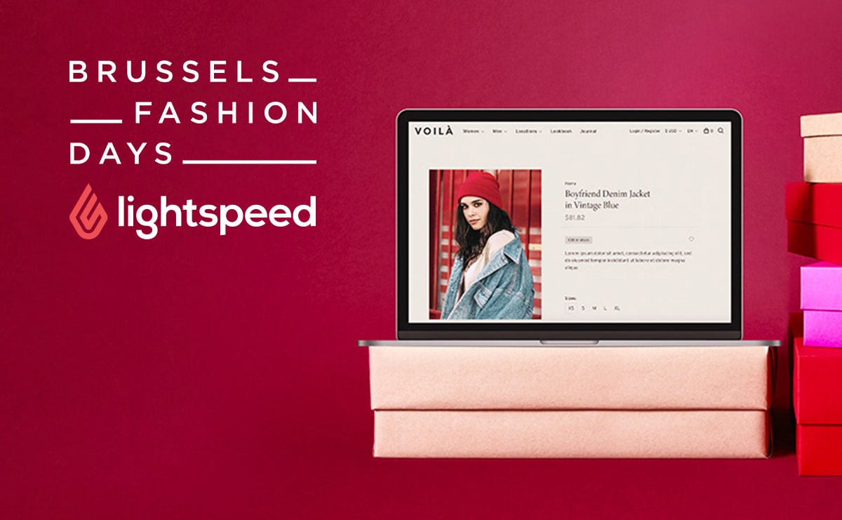 Win een gratis Lightspeed eCommerce webshop op de Brussels Fashion Days