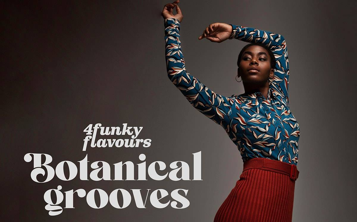 4funkyflavours FW21 Collectie: Our new collection Botanical grooves is ready to meet the world!